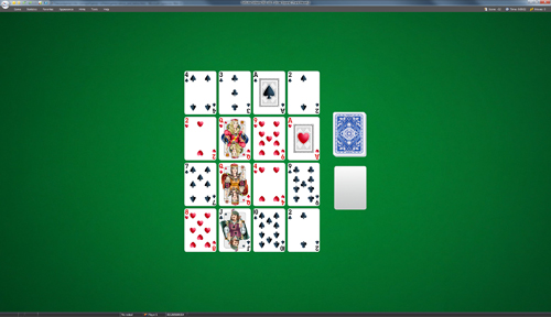 Aces Square Solitaire