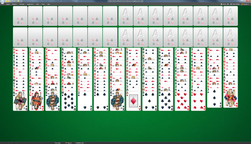 FreeCell Four Decks Solitaire
