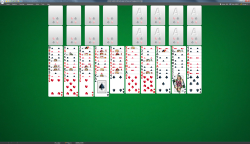FreeCell Two Decks Solitaire