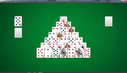 free games solitaire pyramid