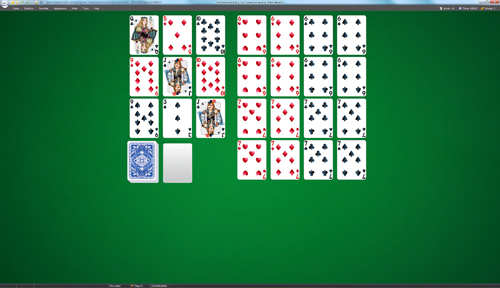 Sixes and Sevens Solitaire